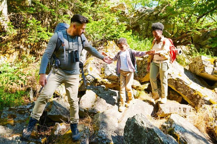 Family Safari: A memorable time together.